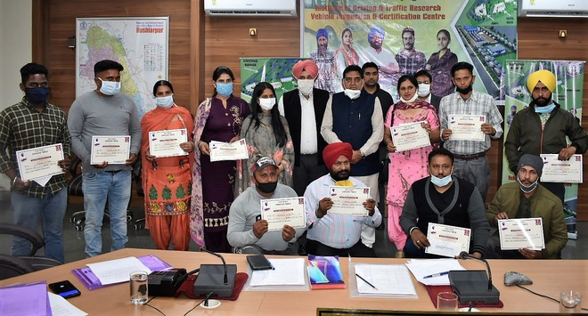 Transforming lives: 262 youth get bus permits in Hoshiarpur