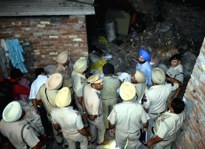 Putlighar blast: Police still clueless about source of explosive material