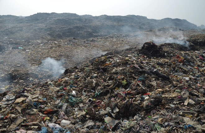 Heaps of garbage bane of Ludhiana residents, MC unmoved