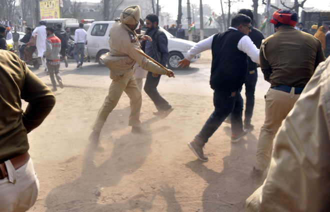 Oppn candidates attacked, booths 'captured' at many places in Patiala