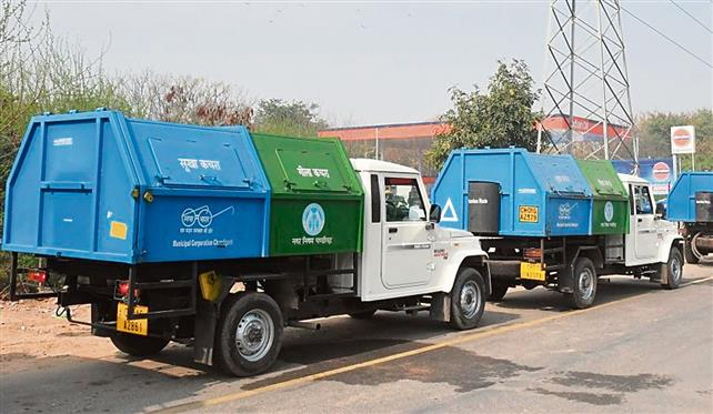 From March 1, Chandigarh MC vehicles to lift garbage in entire city