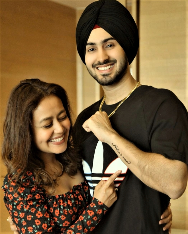 Rohanpreet Singh gets a tattoo of wife Neha Kakkar's name!