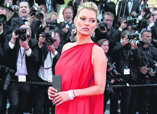 Chaotic start: Kate Moss didn't have a plan for career initially