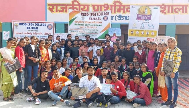 NSS camp conducted