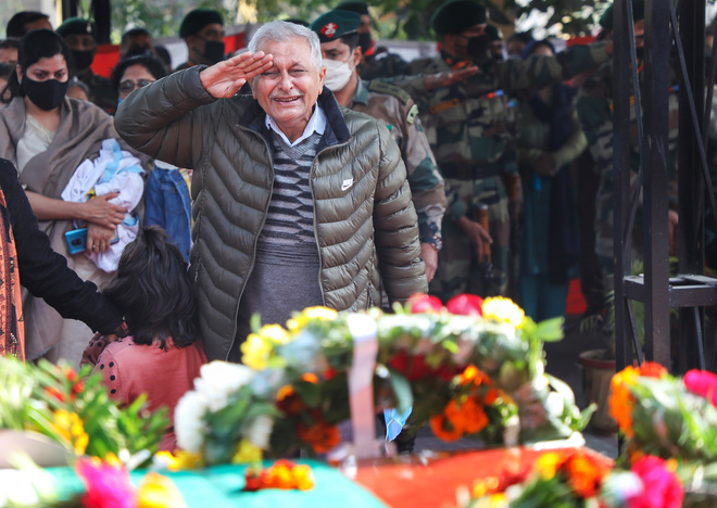Army officer cremated