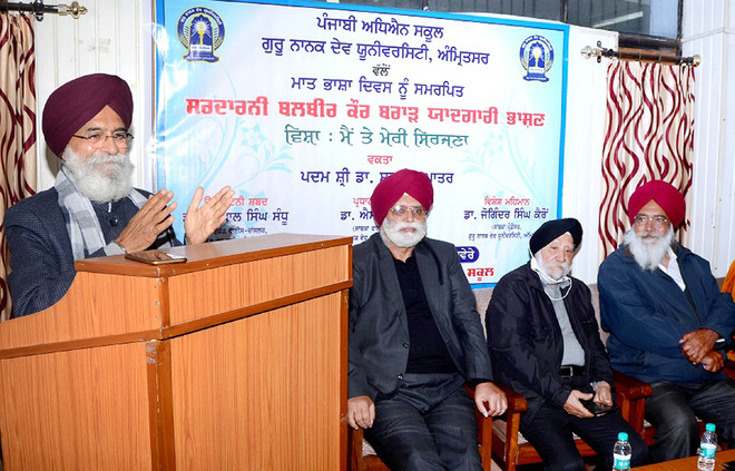 Emotions, life experiences define poetry, says Dr Surjit Patar