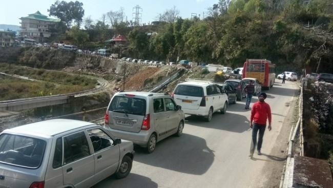 Pathankot-Mandi highway widening project hangs fire