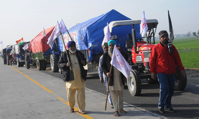 Farmers unite again...this time with a firmer resolve