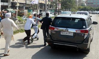 BJP leaders face protests in Amritsar, Jalandhar