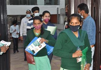 JEE (Main) begins amid precautions