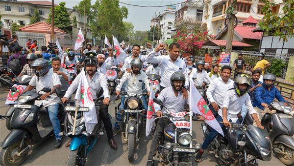 EC bans bike rallies 72 hours before voting in poll-bound states