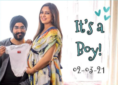 'Our junior 'Singh' has arrived': Singer Harshdeep Kaur, husband welcome baby boy