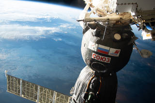 ISS crew to relocate Soyuz to make room for new members - The Tribune