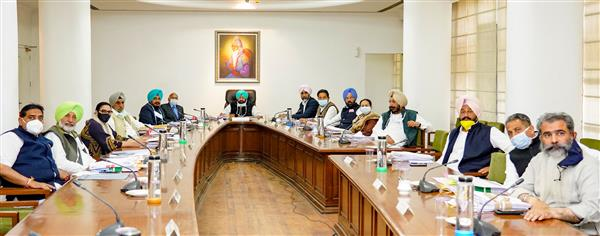 Punjab Cabinet approves restructuring of four departments