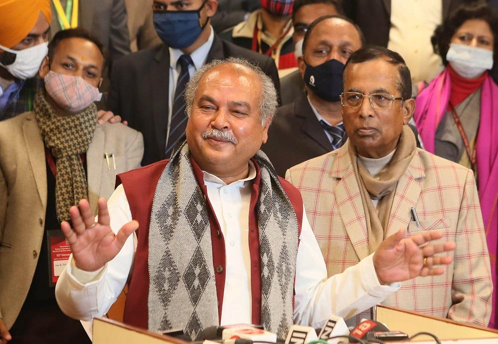 Govt ready to amend new agri laws; opposition playing politics at cost of agri-economy: Tomar