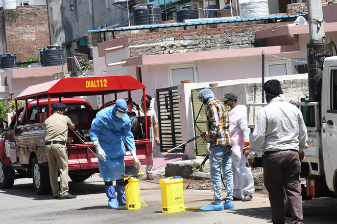 Chandigarh Administration designates 25 areas as containment zones