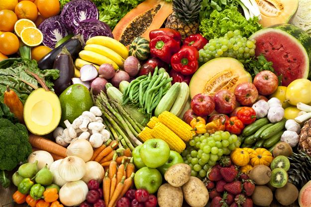 Colour your plate healthy