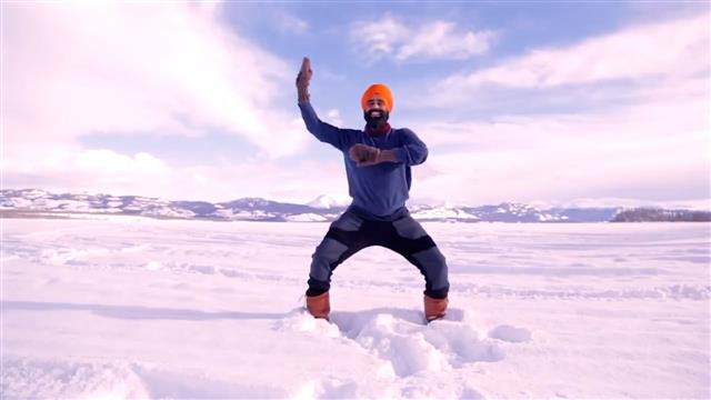 In latest video, Sikh dance teacher performs bhangra in freezing cold, gives special message on Covid