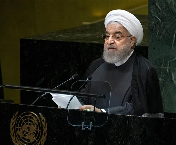 Iran ready to take steps when US lifts sanctions: Hassan Rouhani