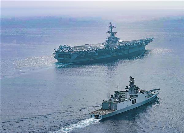 India, US begin two-day naval exercise in eastern Indian Ocean region