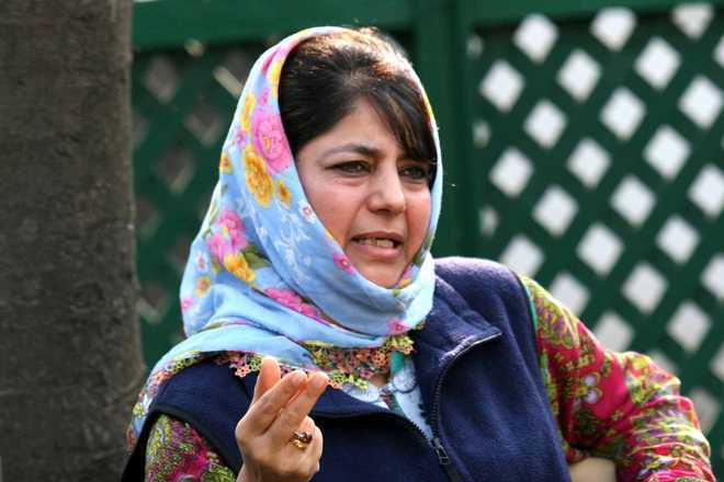 Step in right direction: Mehbooba welcomes PM's letter to Imran Khan