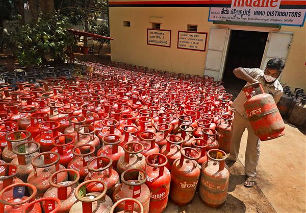 LPG price hiked again by Rs 25, fourth increase in month's time - The Tribune India