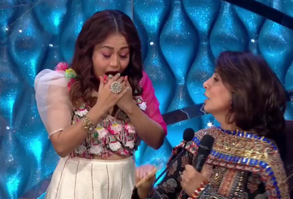 Neha Kakkar was left speechless after Neetu Kapoor gave her 'shaadi ka shagun'; watch Indian Idol 12 new promo