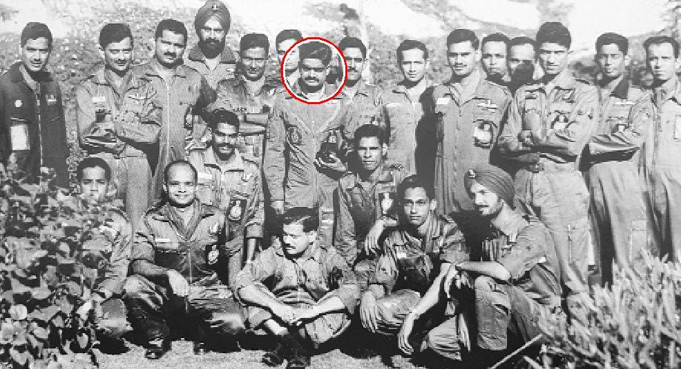 Remembering the CO of 16 Squadron, Wing Commander Padmanabha Gautam, MVC & Bar