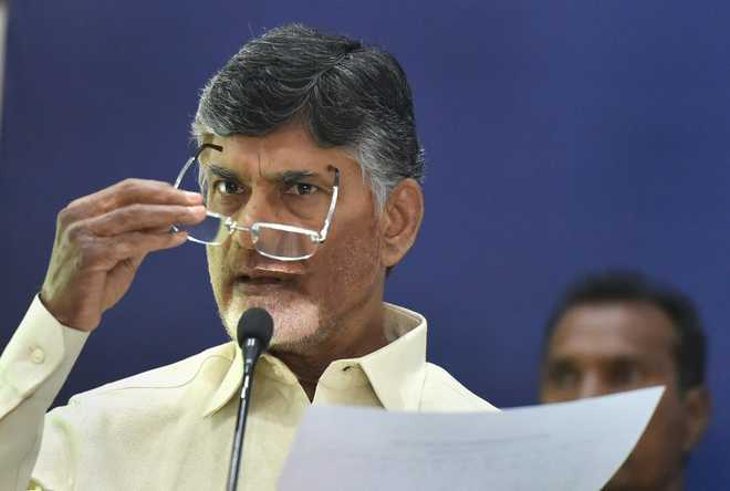 Naidu asks TDP cadres not to be disheartened