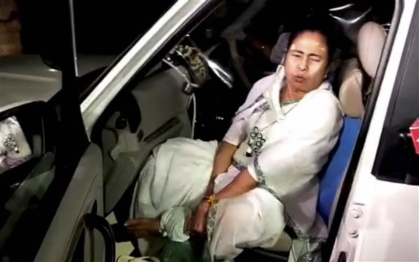 Observers' report to EC says Mamata's injury accidental - The Tribune