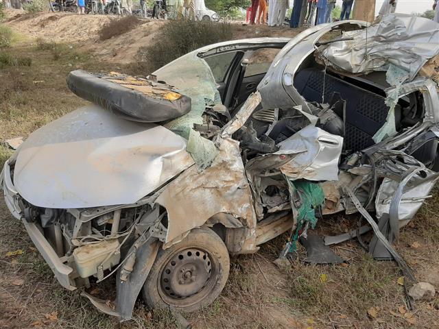 4 of Sangrur family killed in accident on Muktsar-Bathinda road