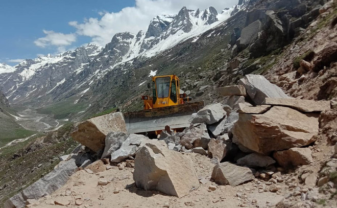Strategic Spiti road to reopen 2 months earlier