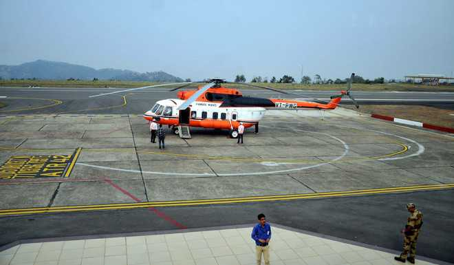 Heli-taxi sought for Shimla, Chandigarh