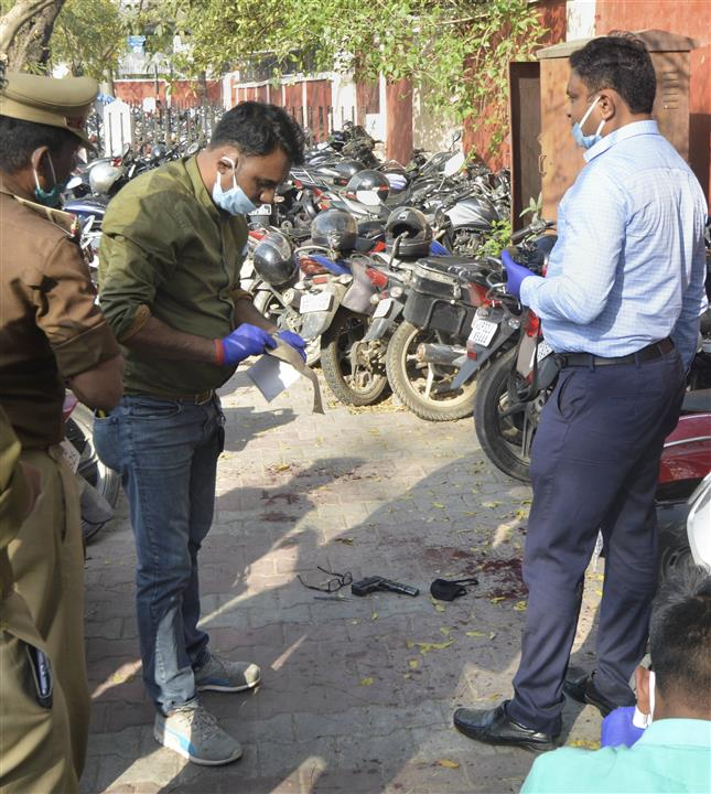 Sub-inspector shoots himself dead with service revolver near UP Assembly complex