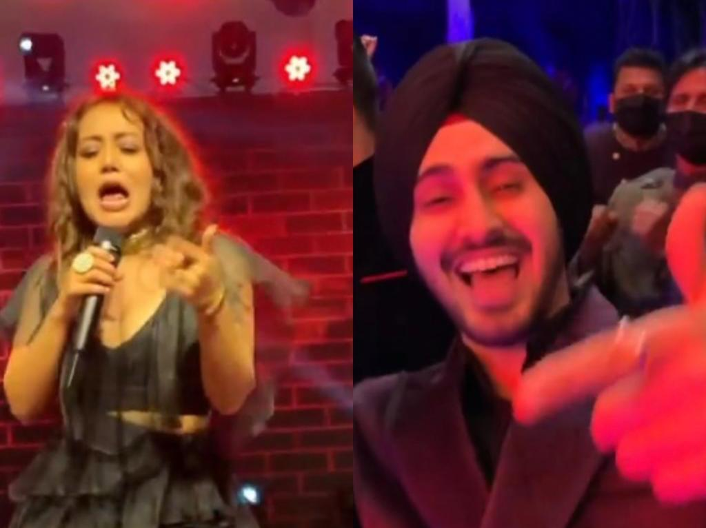 Neha Kakkar sings at wedding, hubby Rohanpreet Singh dances to her tune; Vindu Dara Singh says, 'rab ne bana di Jodi' - The Tribune India