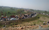 To mark 100 days of protest, farmers block KMP Expressway in Haryana