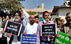 High drama in Punjab Assembly as police remove suspended Akali MLAs from House