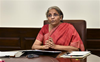 First get the Indian map right: Sitharaman to Freedom House