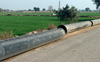 Villagers protest laying of pipeline in Bathinda