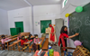 UP primary schools reopen with Covid protocol