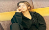 Shehnaaz Gill is lost in deep thought in these all-black outfit pictures; check it out