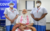 'Laga bhi diya aur pata bhi nahin chala', says Modi after getting Covid vaccine