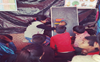 School time at Tikri for kids of migrants
