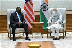 US Defence Secretary meets PM; visit to focus on Indo-Pacific stability