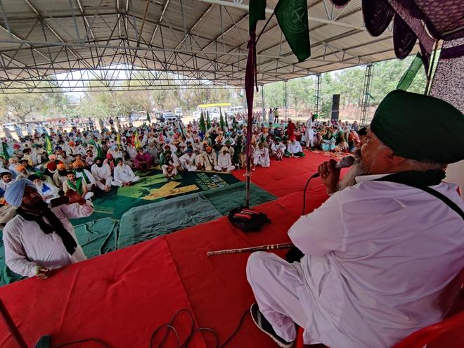 Restrictions won't weaken farmers' stir: Ruldu Singh Mansa