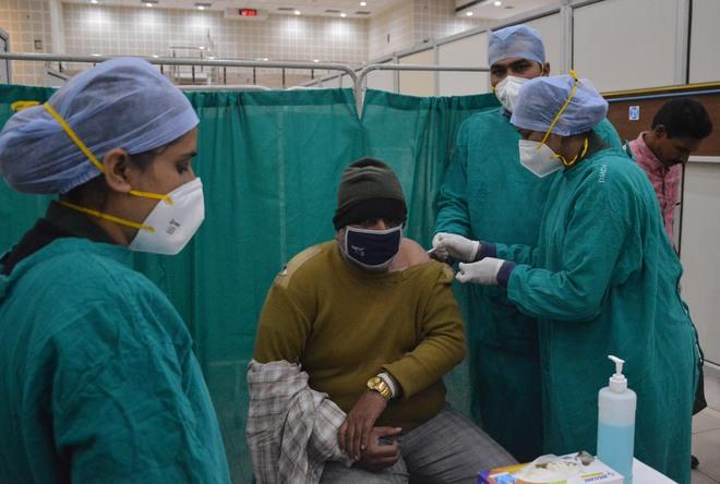 Health Minister Balbir Sidhu conducts
