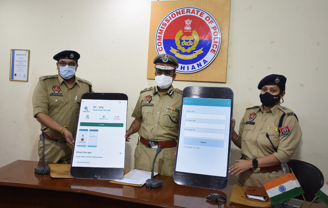 Ludhiana Commissioner of Police launches mobile app to find stolen vehicles