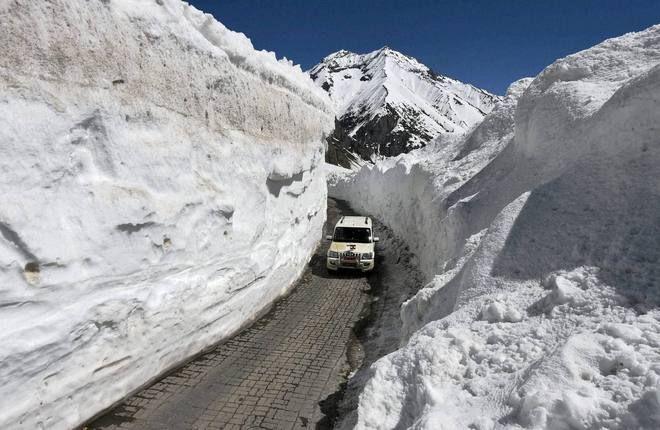 Srinagar-Leh road reopens after 2 months