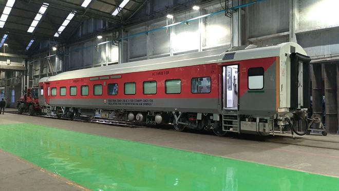 RCF develops high-speed AC 3-tier economy coach