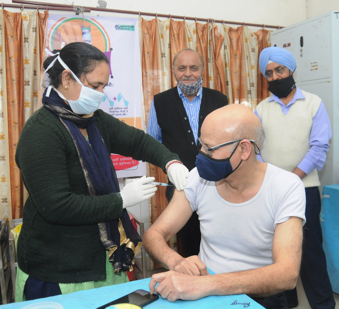 143 senior citizens vaccinated on Day 2